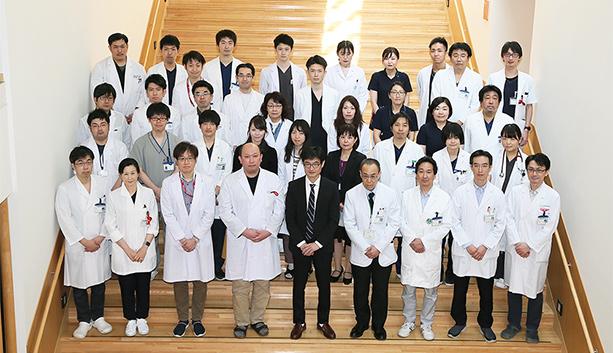 写真内科学講座 血液内科学分野 スタッフ集合写真